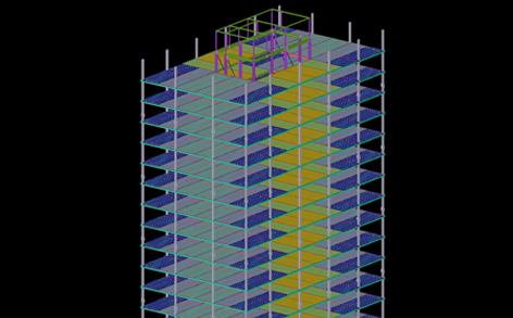 ASMEP related Detailed BIM LOD 400 Modeling for a Leading Modular / Pre-Fab Developer in US